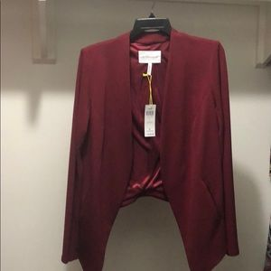 Wine red jacket - never worn